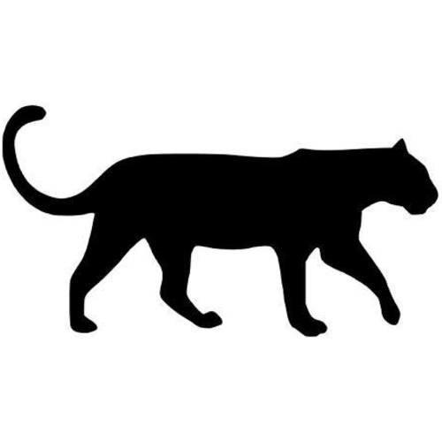 Panthere Noire Applique Flex Thermocollant Un Grand Marche