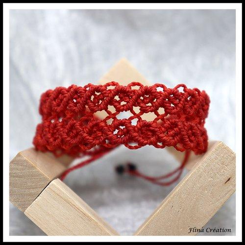 Bracelet macramé m3