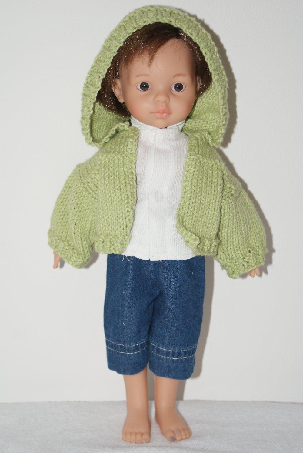 30cm vêtements de Poupée Cardigan Pull en Laine Customiser pour Poupée