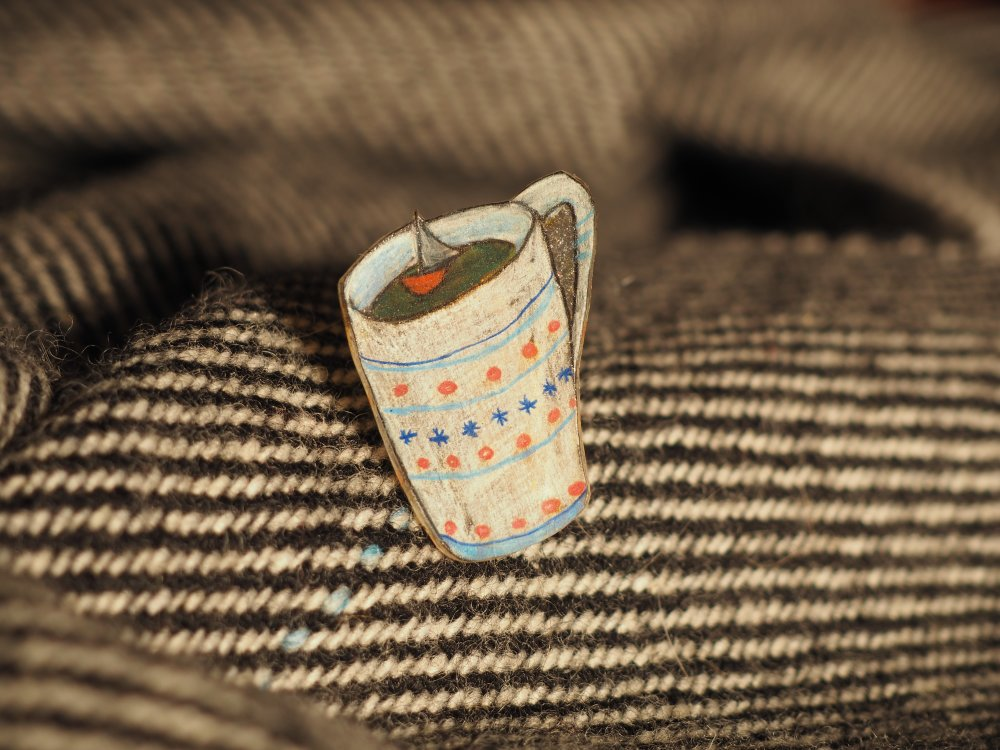 tasse à café motif