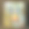 """Cadre photo """" bord de mer """", 10 cm x 15 cm, modèle unique, réalisé à la main"""