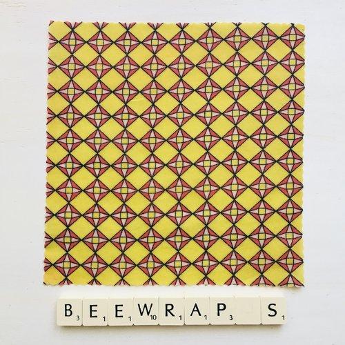 Film alimentaire réutilisable type beewraps s/20 cm