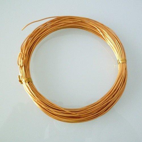 10 Métres de fil câblé gainé nylon 7 brins 0.45mm