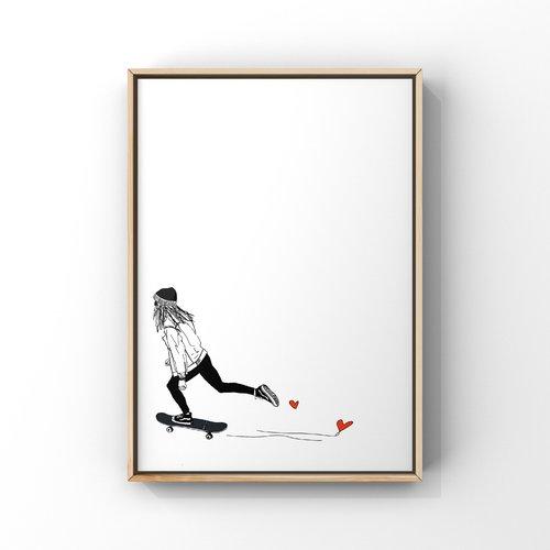 Mademoiselle skate