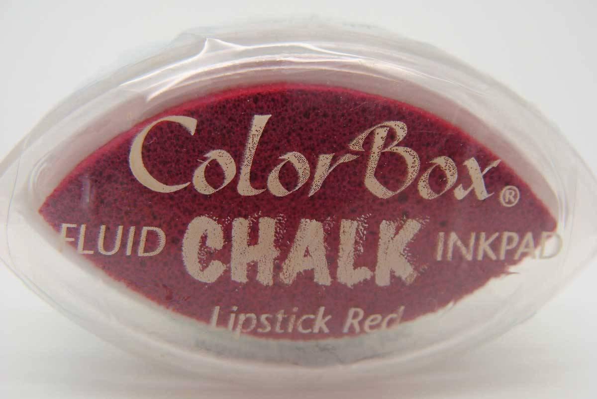 Encreur Color Box Chalk Encre effet craie pastel Lipstick red