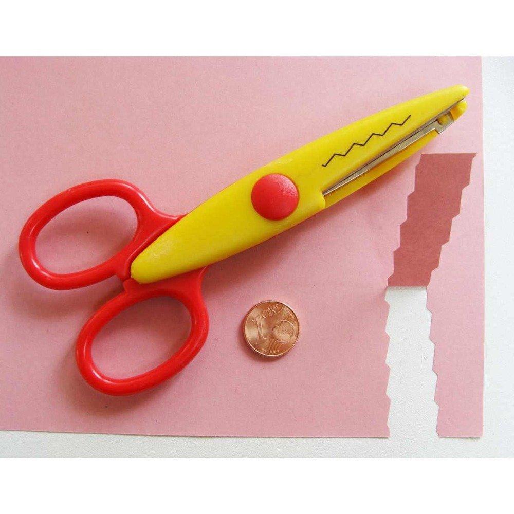 1 ciseaux cranteurs fantaisie découpe scrapbooking papier  MOD1