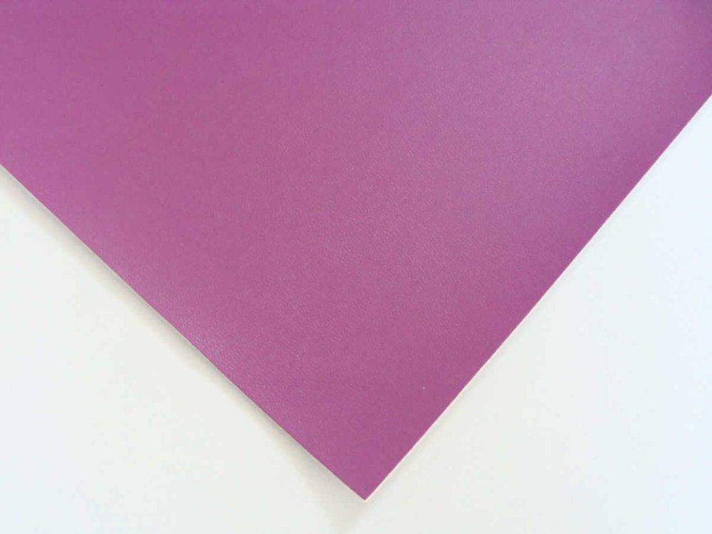 Simili cuir fin 30x30cm Mauve pour cartonnage reliure scrapbooking ou petite couture