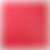 Simili cuir fin 30x30cm rouge pour cartonnage reliure scrapbooking ou petite couture