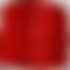 5 mètres queue de rat fil cordon satiné 2mm rouge