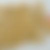100 perles crème rondes 9mm bois peint