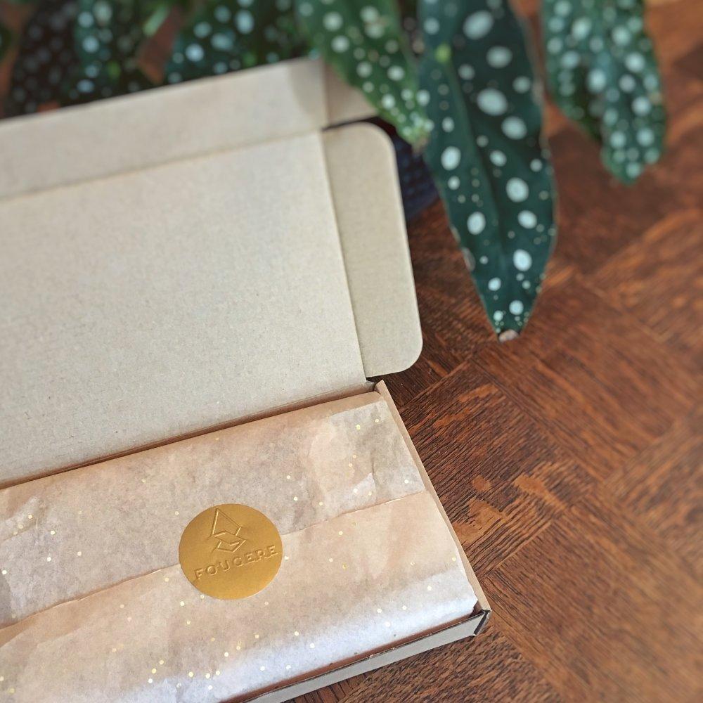 Créoles goutte Art déco en laiton brut, couleur dorée