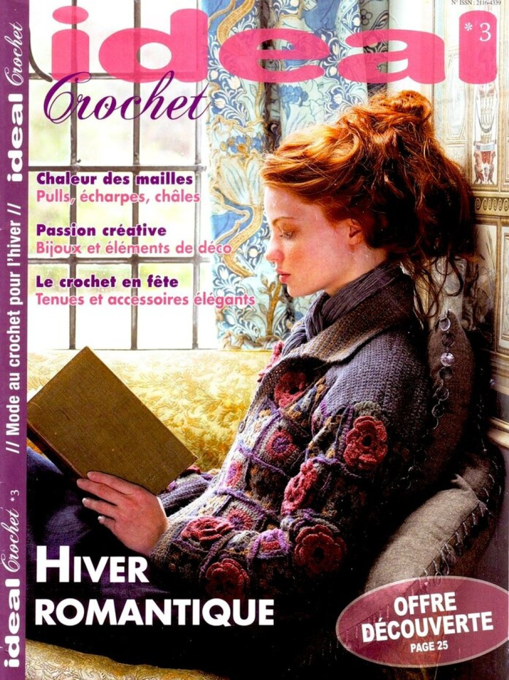 Magazine vintage .IDEAL, crochet , format pdf