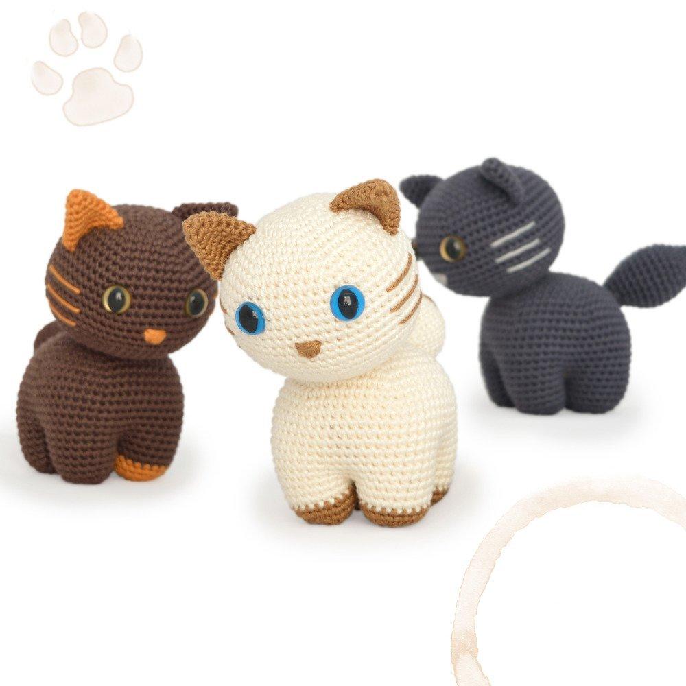 Chats - Amigurumi Crochet Tuto Patron - PDF Tuto Français