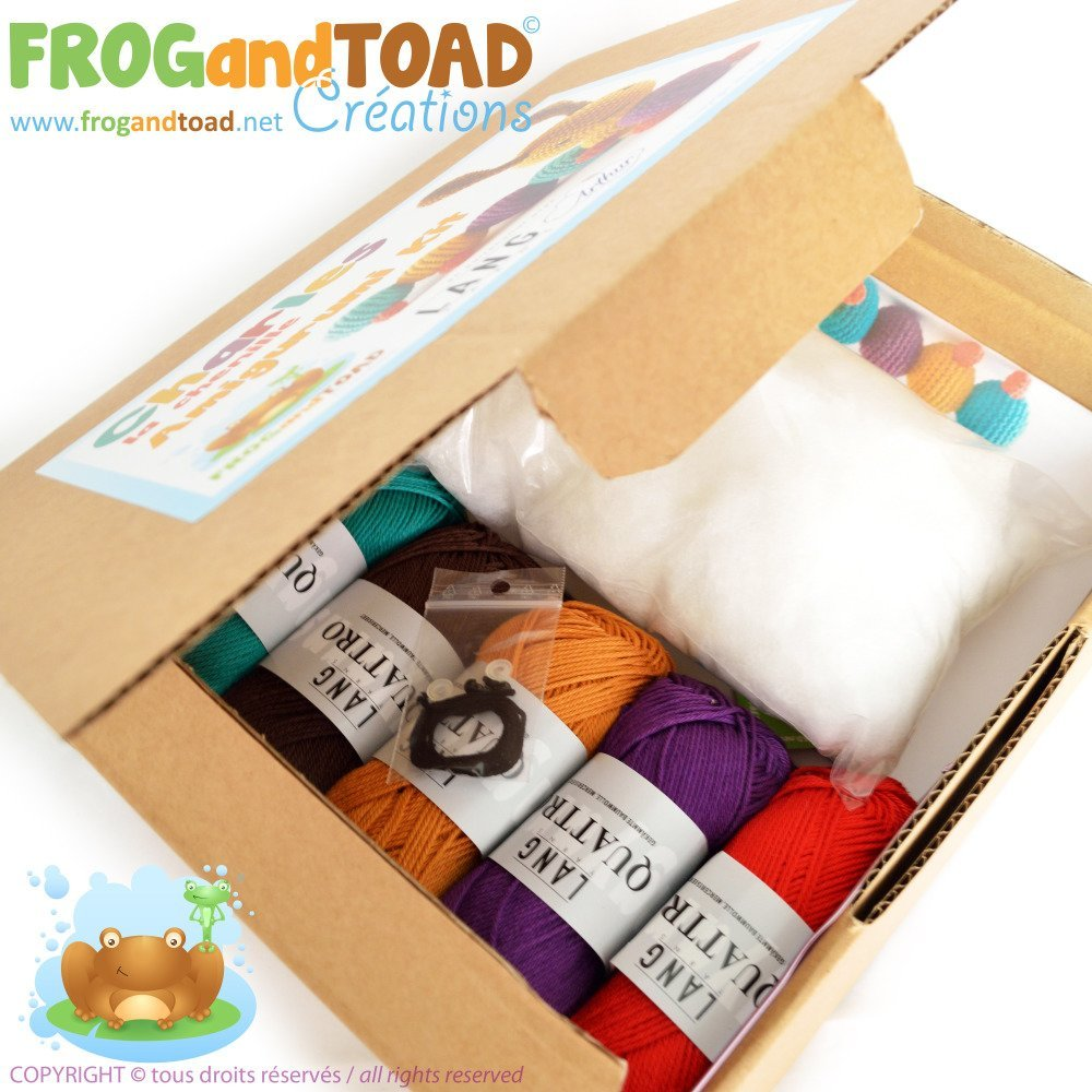 Amigurumi Crochet Kit - CHARLES la Chenille