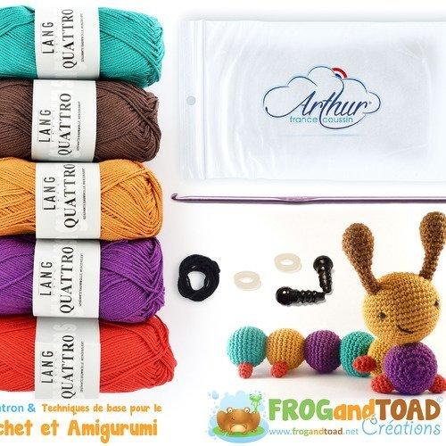Kit crochet amigurumi Ricorumi - écureuil | 500x500