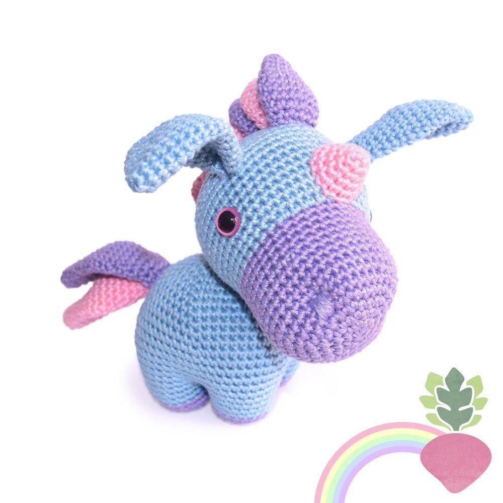 Licorne - Amigurumi Crochet Tuto Patron - PDF Tuto Français