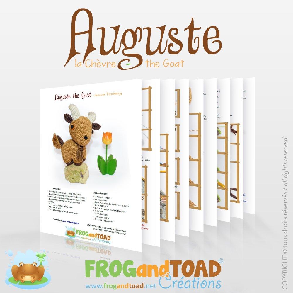 Chêvre - Amigurumi Crochet Tuto Patron - PDF Tuto Français