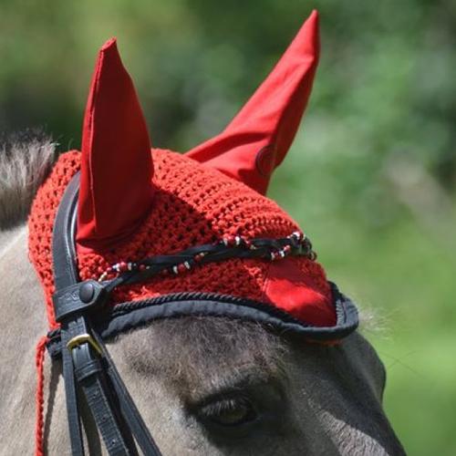 """Cadeau cavalière frontal cheval modèle """" julie"""""""