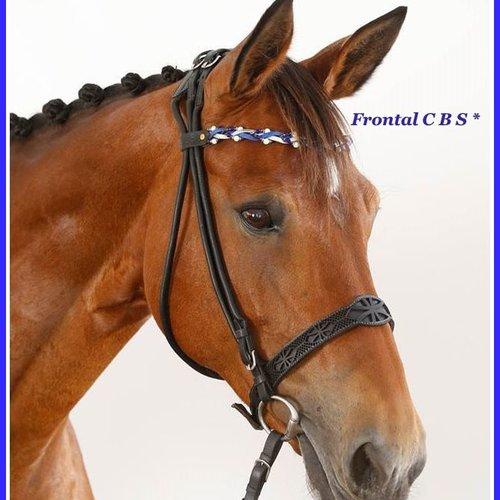 """Frontal cheval modèle """" paris"""""""