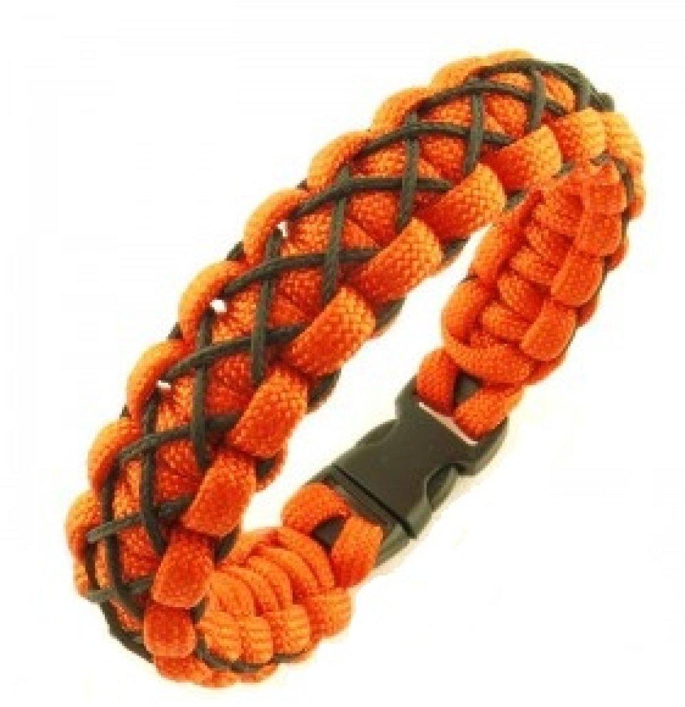 Bracelet Cobra Orange et Noir