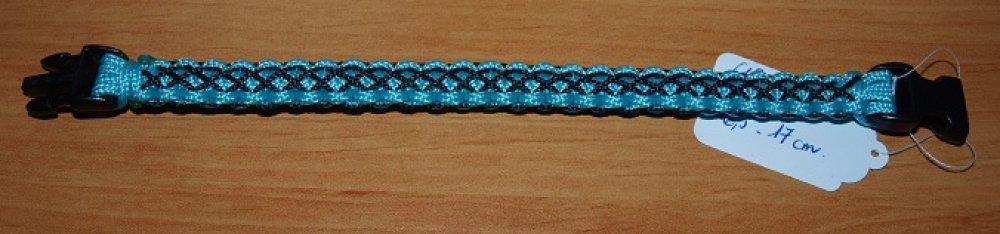 Bracelet Bébé Cobra Bleu Clair et Noir