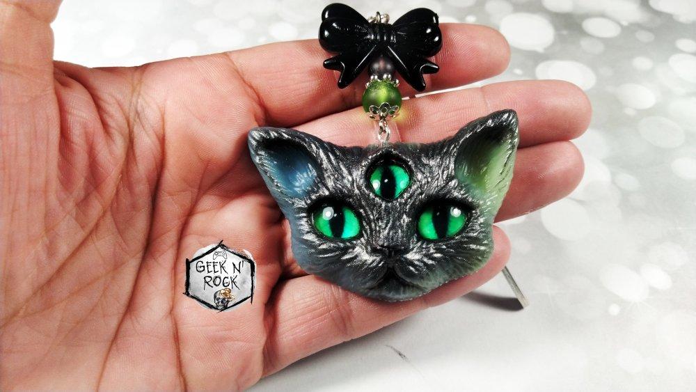 Marque-pages chatons démons Evil cat kitten demon