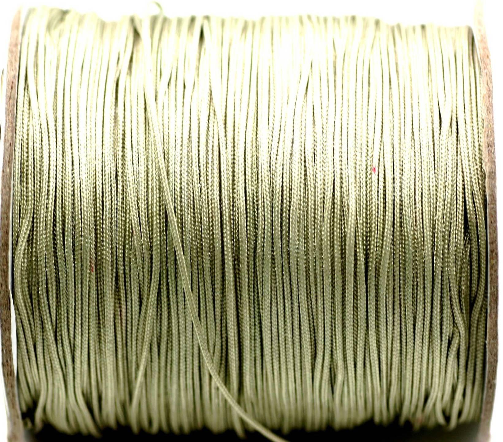 Fil nylon kaki clair 0,8 mm  x 3 m