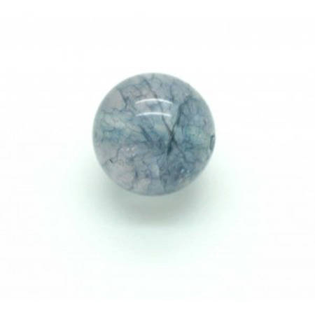 Perle Aigue-marine ronde 12mm x 1