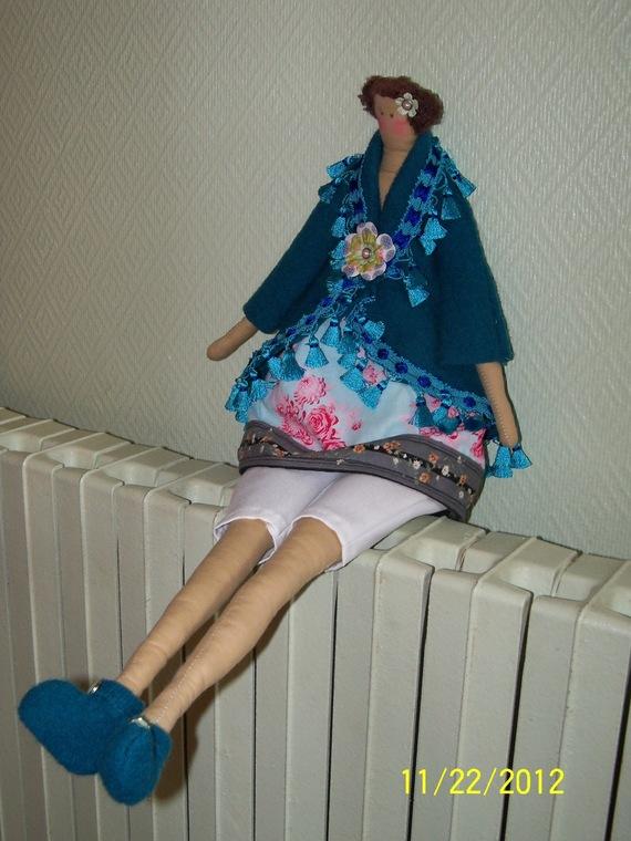 poupée décorative tilda