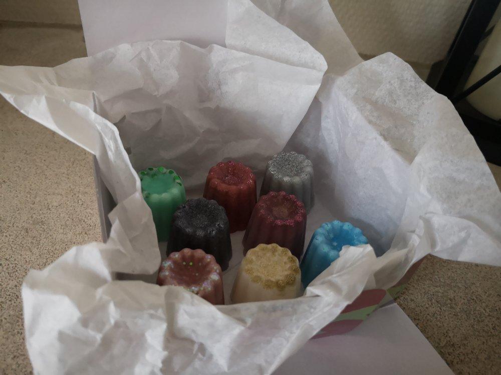 boite cadeau DÉCOUVERTE de 8 fondants parfumés