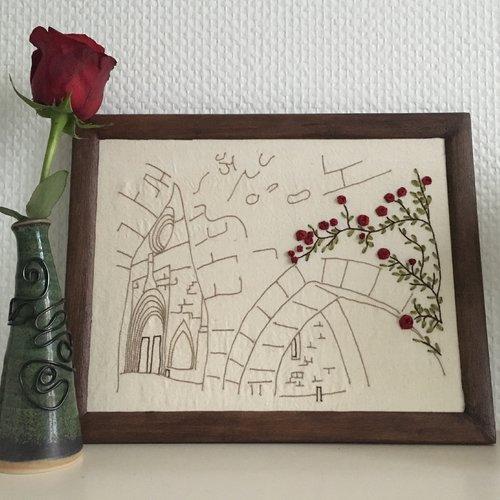 Bastide et roses kit