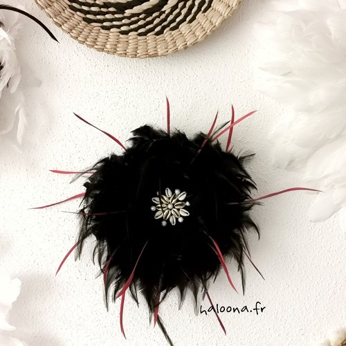 Juju hat noir & bordeaux