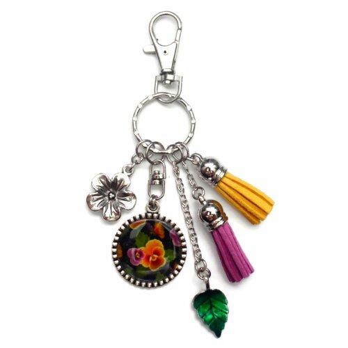 Porte clés bijoux sac fille en robe chic parfum idéal cadeau
