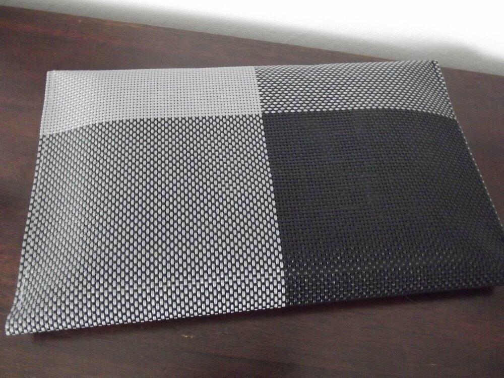 pochette sac en plastique - fait main modèle unique