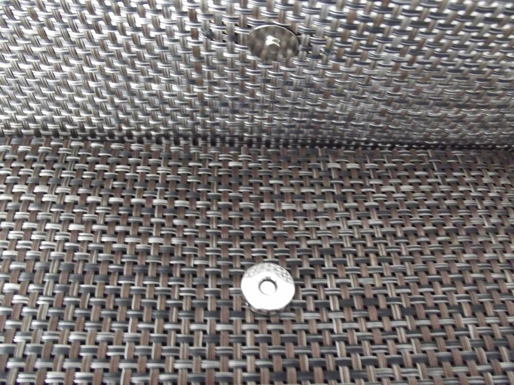pochette sac du soir en plastique tressé - modèle unique