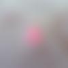 Cabochon en résine en forme de canard coloris rose et bleu