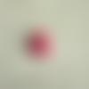 Cabochon en résine en forme de petit ourson coloris rouge