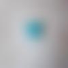 Cabochon en résine en forme de chat coloris bleu