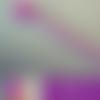 Stylo fantaisie hibou coloris violet et blanc