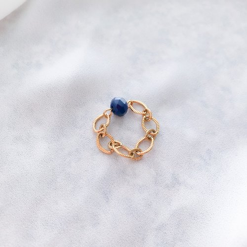 Bague lina (bleue)