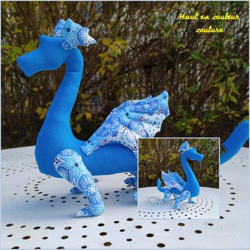 Dragon bleu