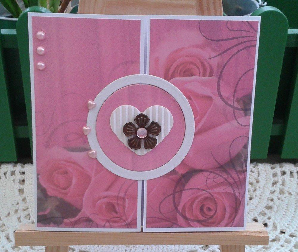 Carte Amour Bouquet De Roses Fête Anniversaire