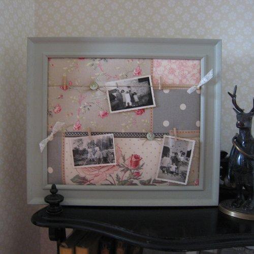 Pêle-mêle photos, cadre photos, patchwork