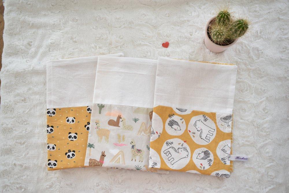 Protège carnet de santé bébé fille/garcon original, cadeau naissance, fait main,ou pochette couches