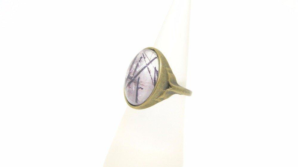 bague bronze ovale, inspiration zen
