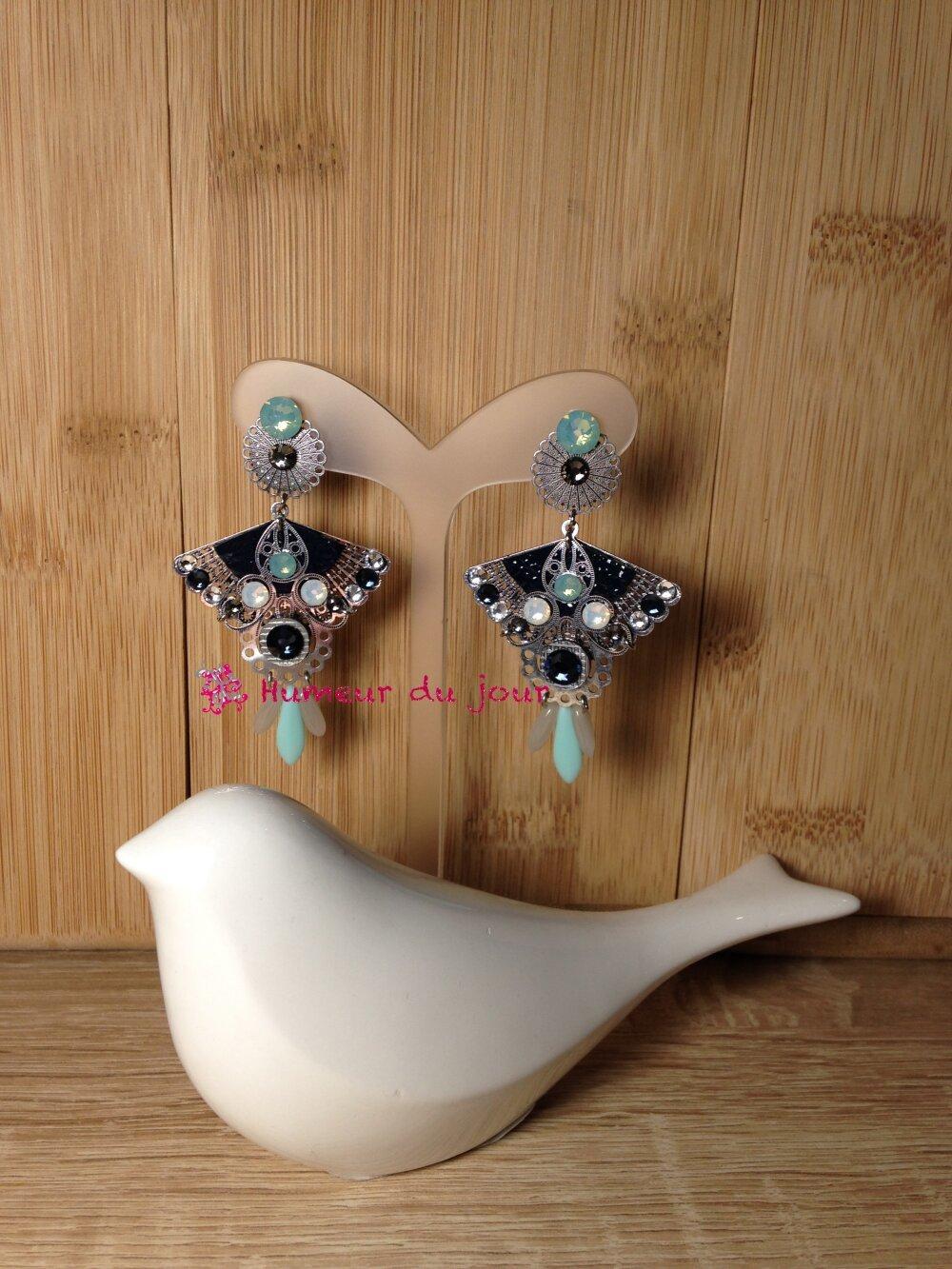 Boucles d'oreilles Colibri