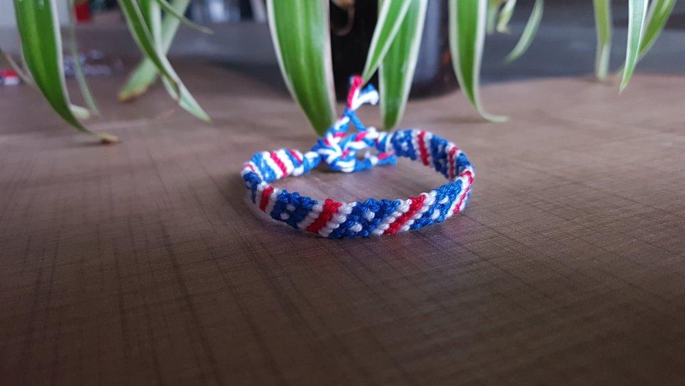 Bracelet brésilien USA version mini