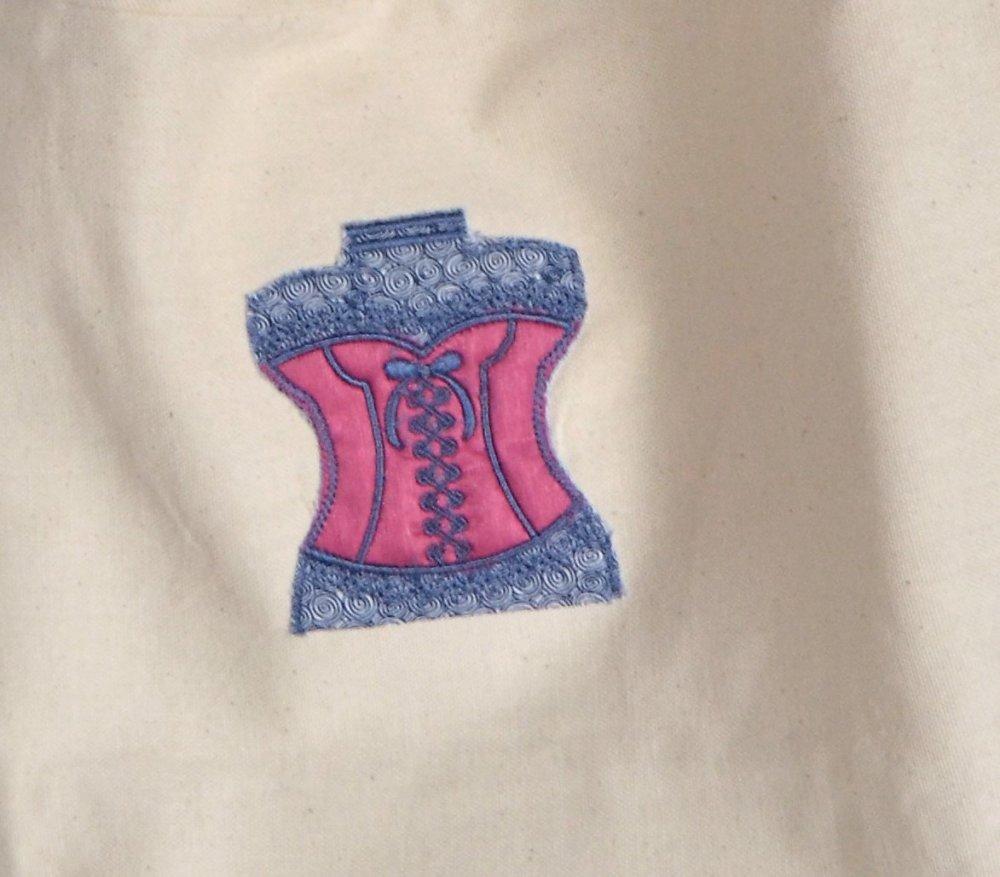 Tote bag corset