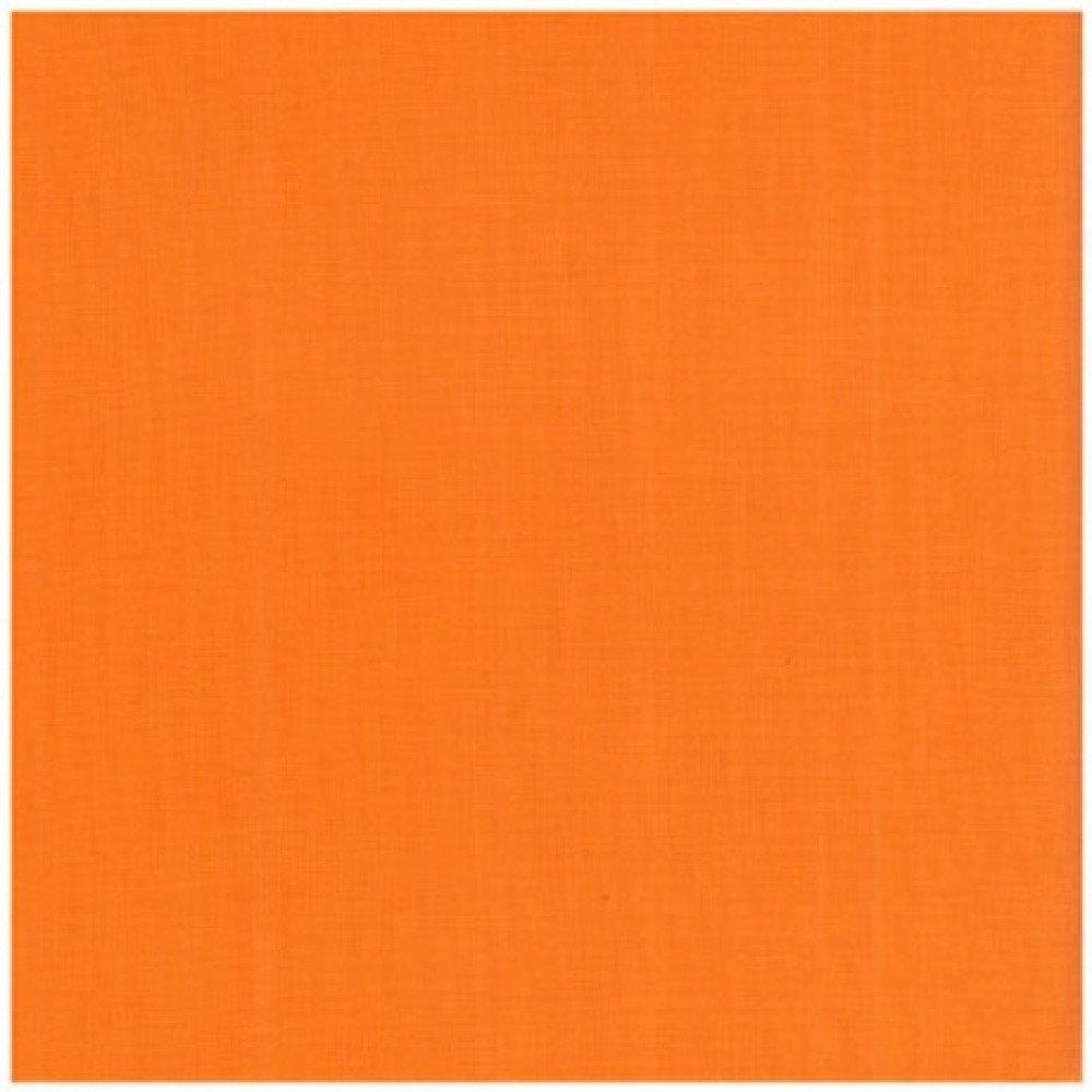Tissu  - Uni - orange - 100% coton
