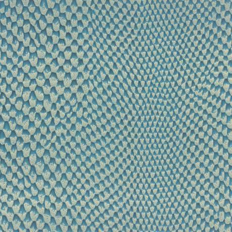 Simili cuir - Couleur iguane bleu
